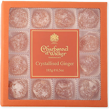 CHARBONNEL ET WALKER Crystallised ginger 185g