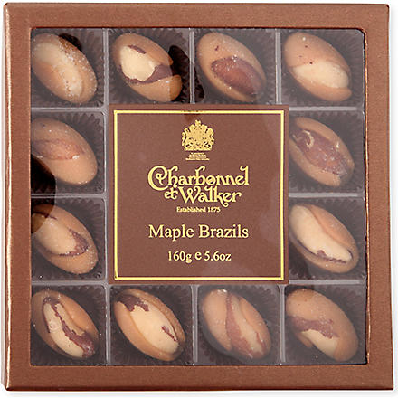 CHARBONNEL ET WALKER Maple Brazil nuts 160g