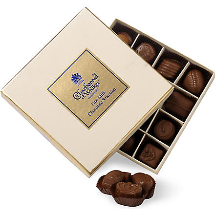 CHARBONNEL ET WALKER Milk chocolate selection 200g