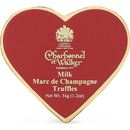 CHARBONNEL ET WALKER Marc de Champagne truffles 34g