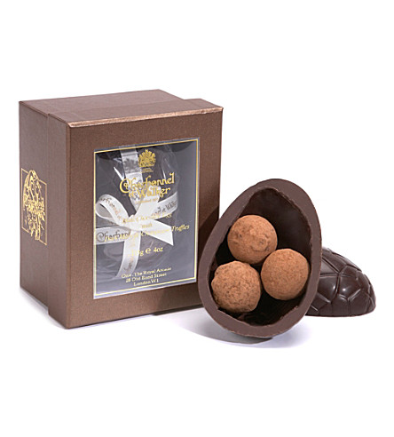 CHARBONNEL ET WALKER Marc de Champagne chocolate egg 115g