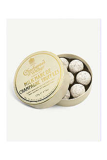 CHARBONNEL ET WALKER Milk Marc de Champagne truffles 130g