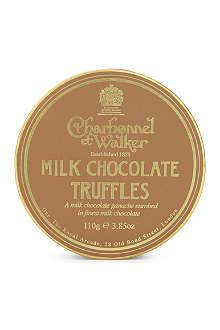 CHARBONNEL ET WALKER Milk chocolate truffles 110g