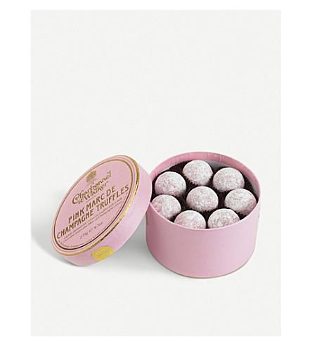 CHARBONNEL ET WALKER Pink champagne truffles 275g