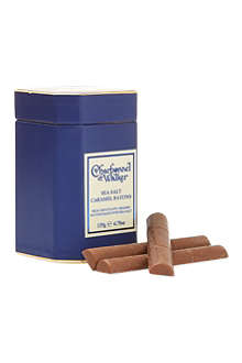 CHARBONNEL ET WALKER After dinner sea salt caramel batons 135g