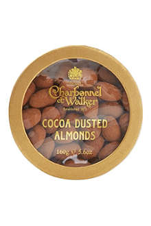 CHARBONNEL ET WALKER Cocoa dusted almonds 160g