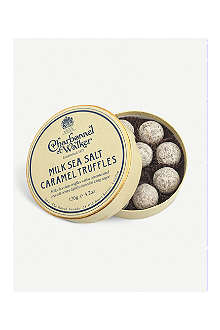 CHARBONNEL ET WALKER Sea salt caramel truffles 120g