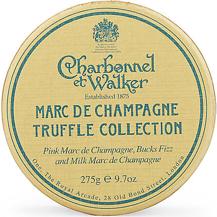 CHARBONNEL ET WALKER Marc de Champagne truffle collection 275g