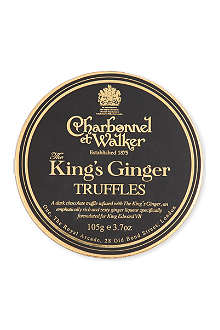 CHARBONNEL ET WALKER King's Ginger Truffles 105g