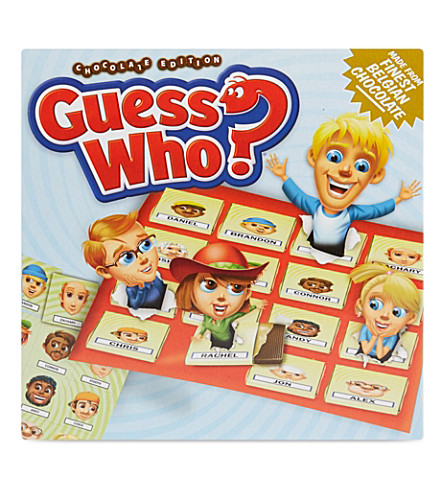 CHOCOLATE BOARD GAMES Guess Who? Chocolate edition