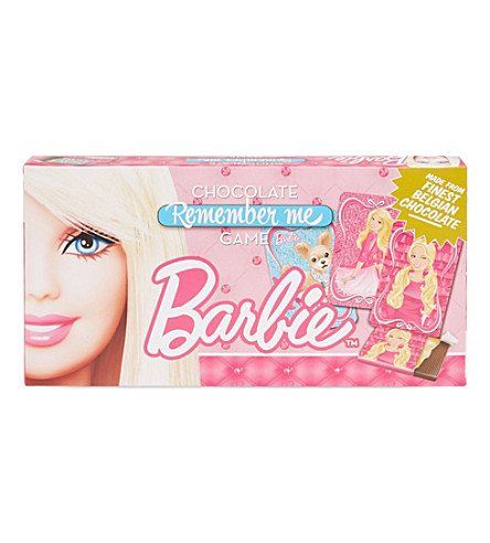 CHOCOLATE BOARD GAMES Barbie chocolate game 90g