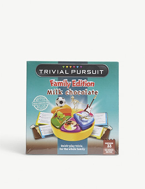 GAMES IN MOTION Chocolate Trivial Pursuit 170g