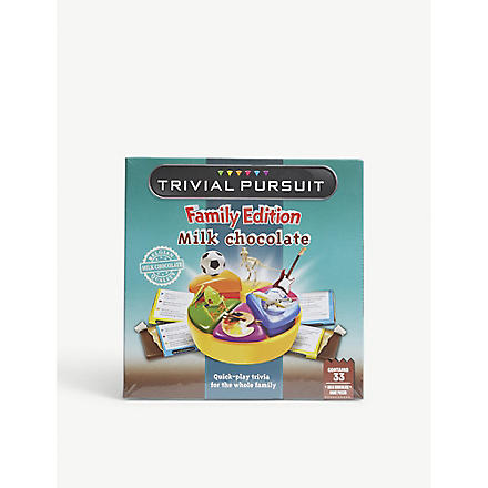 TRIVIAL PURSUIT Chocolate Trivial Pursuit 170g