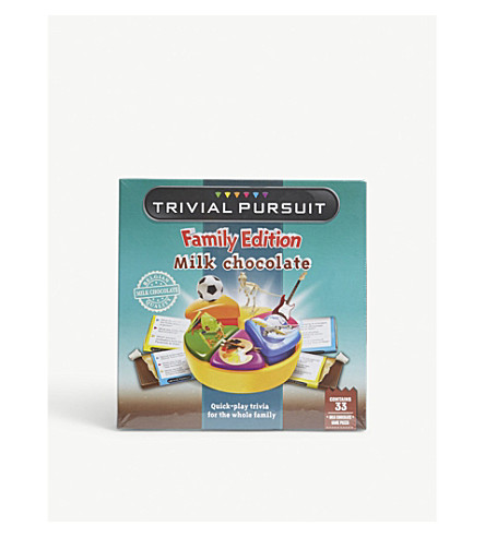 GAMES IN MOTION Chocolate Trivial Pursuit 154g