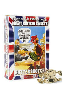 SPENCER & FLEETWOOD Butterscotch sweets 160g