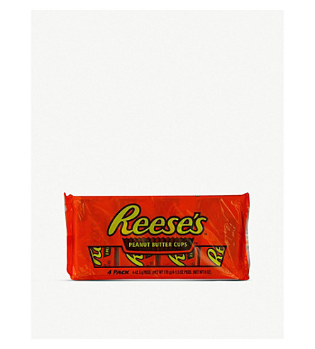 REESE'S Peanut butter cups pack of four