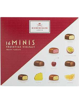 NIEDEREGGER Marzipan Fruity Mini Delicacies 112g