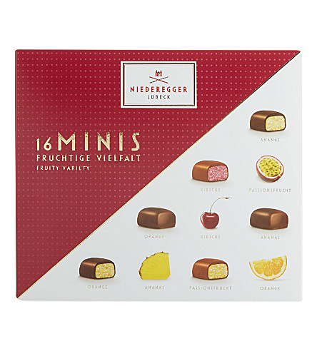 NIEDEREGGER Marzipan Fruity Mini Delicacies 112g