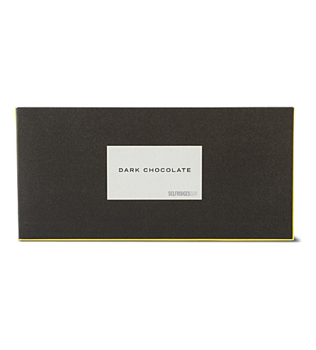 SELFRIDGES SELECTION Dark chocolate bar 45g