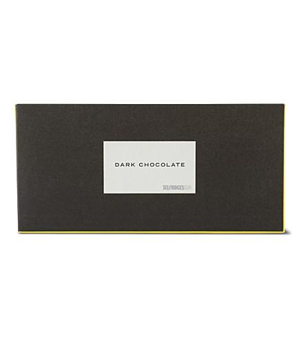 SELFRIDGES SELECTION Dark chocolate bar 45g