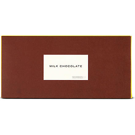 SELFRIDGES SELECTION Milk chocolate bar 45g