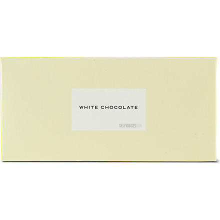 SELFRIDGES SELECTION White chocolate bar 45g