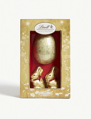 LINDT Gold bunny luxury milk chocolate Easter egg 260g