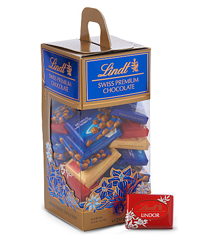LINDT Neopolitans assorted chocolates 250g