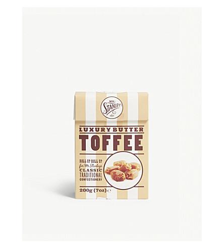 MR STANLEY'S Luxury butter toffee box 200g