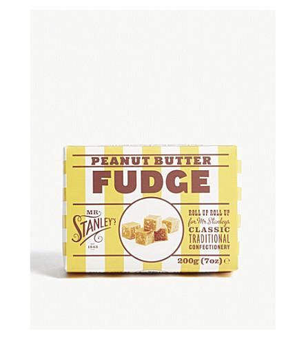 MR STANLEY'S Peanut butter fudge 200g