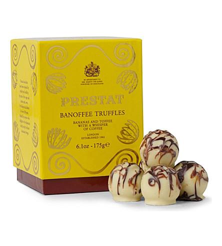 PRESTAT Banoffee truffles 175g
