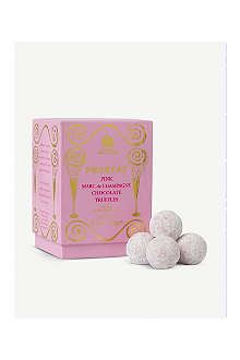 PRESTAT Pink Marc de Champagne chocolate truffles 175g