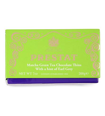 PRESTAT 绿色茶叶巧克力稀释200g
