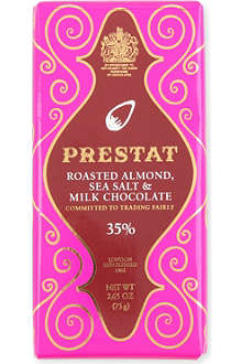 PRESTAT Almond Milk & Sea Salt milk chocolate bar 75g