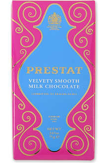 PRESTAT Velvety milk chocolate bar 75g