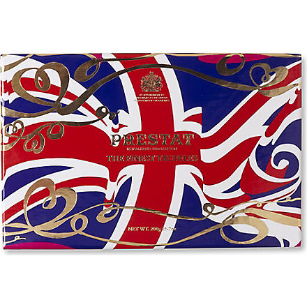 PRESTAT Union Jack assortment 200g