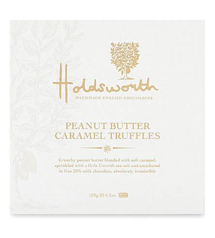 HOLDSWORTH Peanut butter caramel truffles 120g