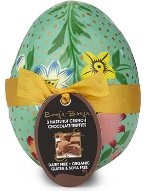 NONE Organic champagne truffles decorative Easter egg 40g