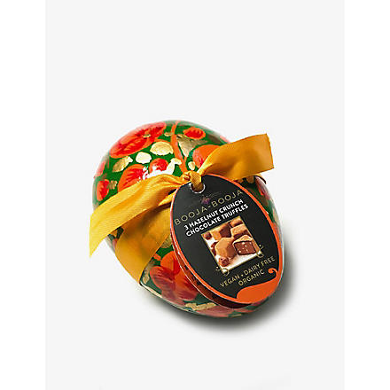 Organic hazelnut chocolates decorative Easter egg 35g