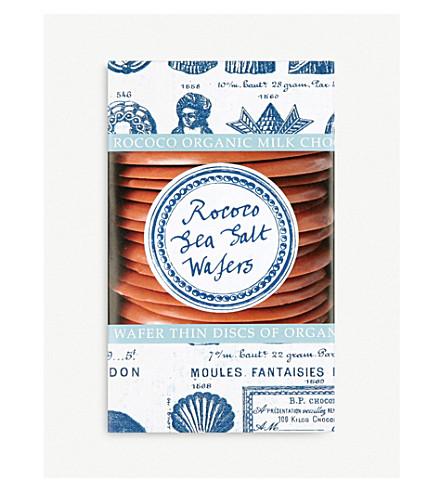 ROCOCO Organic sea salt wafers 150g