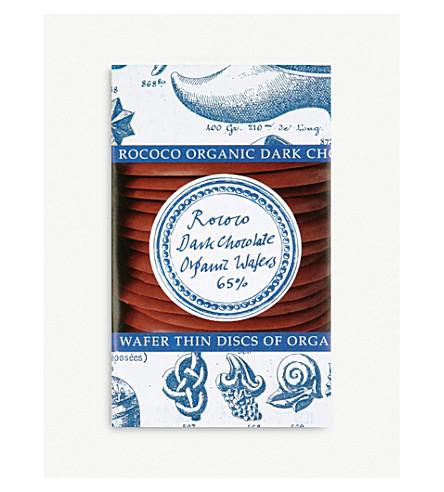 ROCOCO Organic plain dark wafers 150g