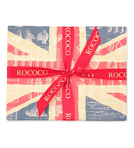 ROCOCO Union Jack chocolate selection 110g