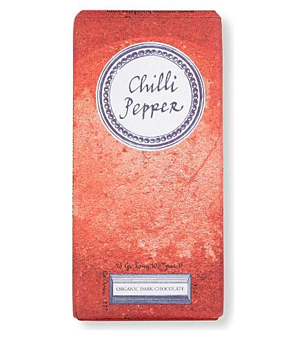 ROCOCO Organic dark chilli pepper artisan bar 70g