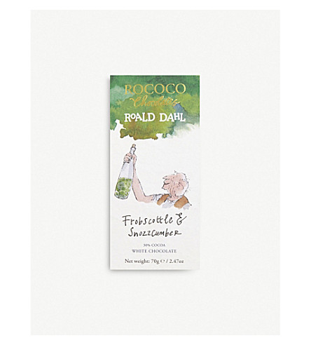 ROCOCO Frobscottle & Snozzcumber white chocolate 70g