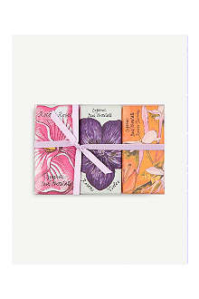 ROCOCO Floral Bee chocolate bars Set of three 60g