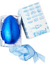 Blue milk chocolate Easter egg 220g
