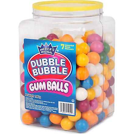 DUBBLE BUBBLE Giant gum ball refill 1.9kg