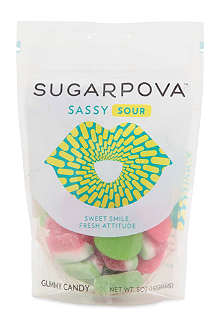 SUGARPOVA Sassy Sour fruit gummy sweets 142g