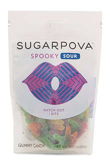 SUGARPOVA Spooky Sour gummy spider sweets 142g