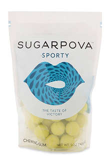 SUGARPOVA Sporty lemon-lime gumballs 142g